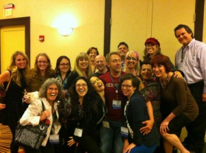 With fellow sex educators at Momentum 2012