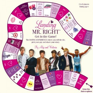LANDING MR. RIGHT NEW BOARD GAME