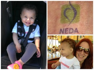 At the NEDA DC Walk